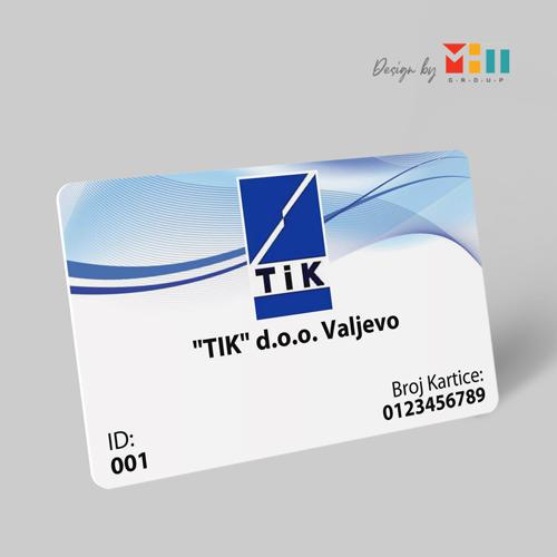 Dizajn plastičnih ID karticaa